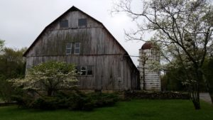 Homestead's old dairy barn